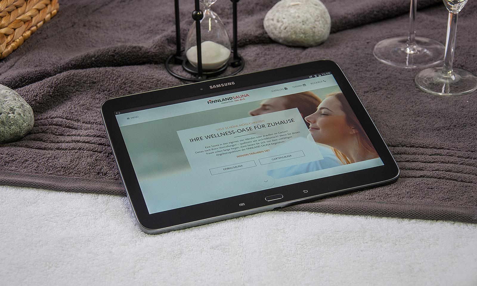 finnland sauna relauncht ihren webauftritt agentur3b gmbh. Black Bedroom Furniture Sets. Home Design Ideas